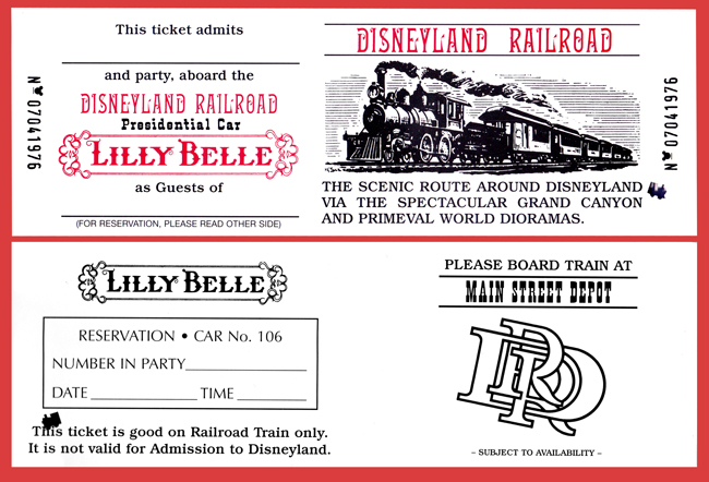 Lilly Belle Ticket
